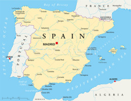 Location TPMC - Where is spain located